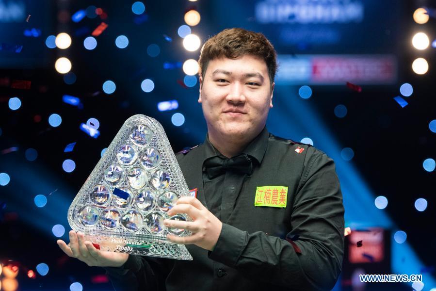 Debutant Yan Bingtao Crowned Masters Champion China Org Cn