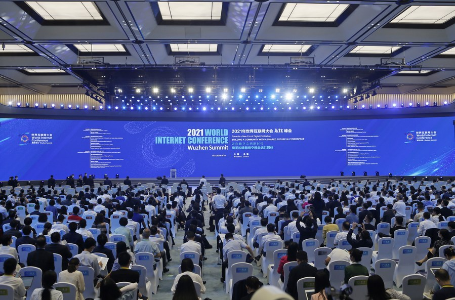 Leading internet hi-tech achievements unveiled in China